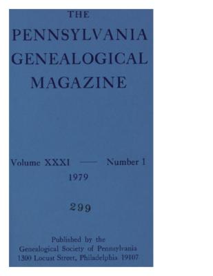 PGM Volume 31 Number 1