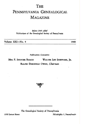 PGM Volume 21 Number 4