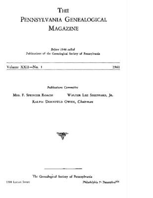 PGM Volume 22 Number 1