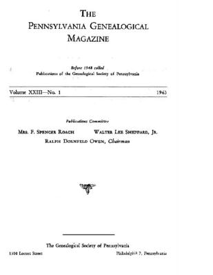 PGM Volume 23 Number 1